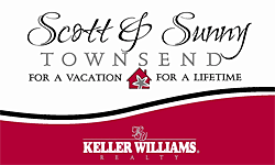 Scott and Sunny Townsend with Keller Williams Realty
