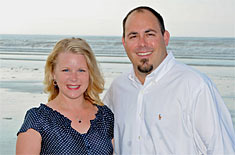 Scott and Sunny Townsend with Keller-Williams Realty and Higgins Beach Maine.com